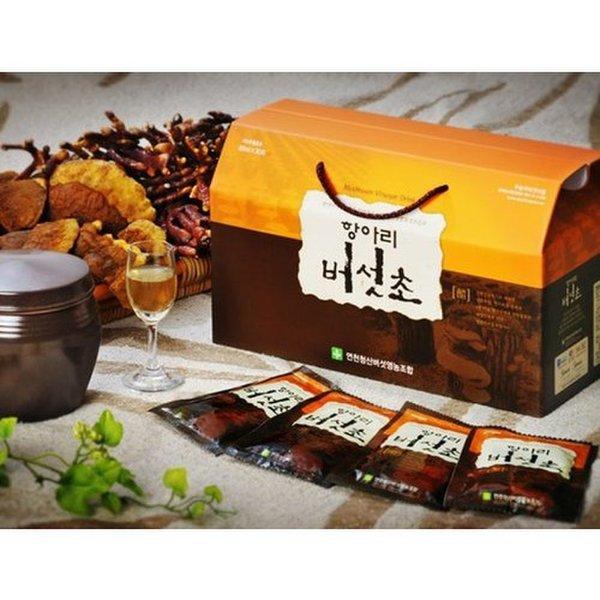 (디엠지)  연천청산버섯영농조합 항아리버섯식초음료 80ml x 30포 상품이미지