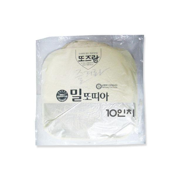 코리원/CJ/남향 밀/쌀/또띠아 10인치/780g/피자/도우 상품이미지