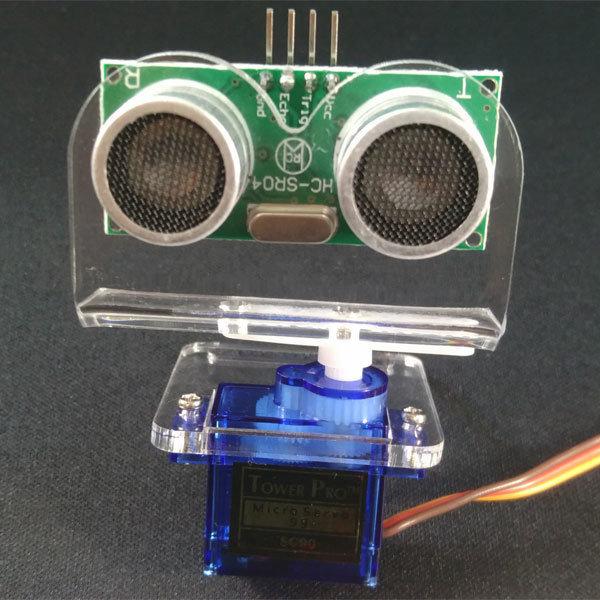 P14 초음파센서 서보 브라켓 아두이노 스마트카 로봇 상품이미지