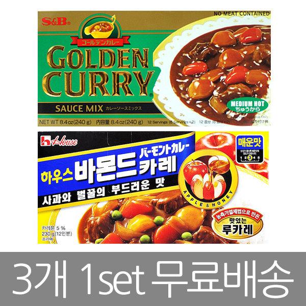 (3개무료배송) 바몬드카레230g SB카레240g/일본카레 상품이미지