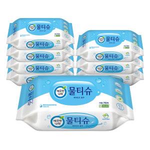 [깨끗한나라](1+1)깨끗한나라_페퍼민트물티슈 리필 _70매x8입