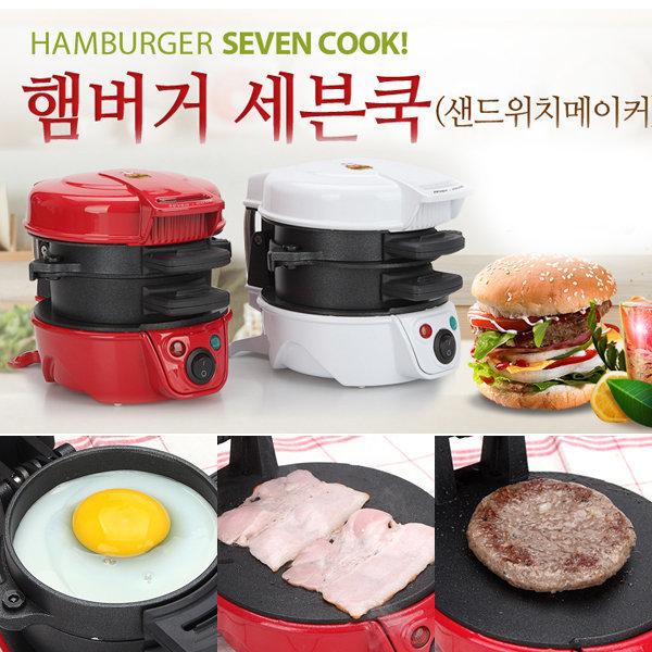 햄버거메이커 샌드위치 밥버거 햄버거제조기 와플 쿡 상품이미지