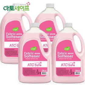 로하스인증 섬유유연제 핑크로즈 2.5L 4개