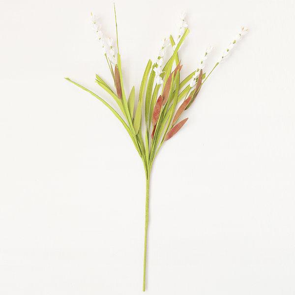 실비아 화이트 (인테리어 조화꽃 화분) 상품이미지