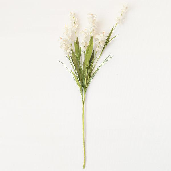 자스민 화이트 (인테리어 조화꽃 화분) 상품이미지