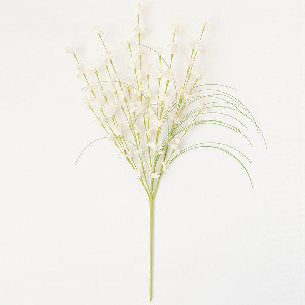 개나리 화이트 (인테리어 조화꽃 화분) 상품이미지