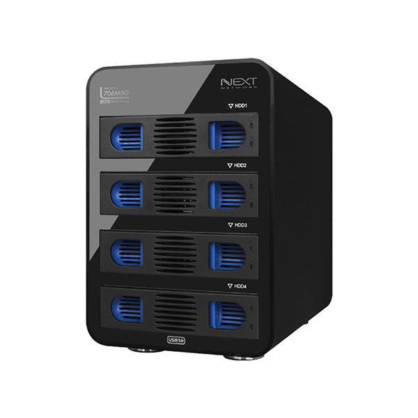 오늘출발 NEXT-706M6G/4베이/USB3.0/데이터스토리지- 상품이미지