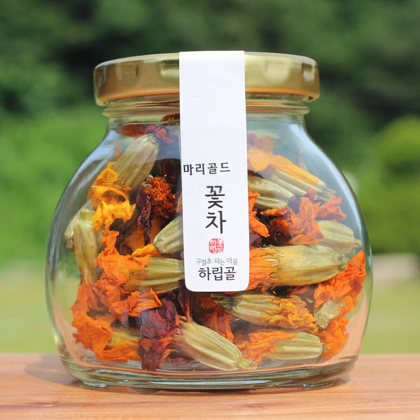 마리골드 꽃차  메리골드 무농약 루테인 국산꽃 상품이미지
