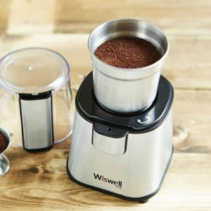 [위즈웰]전동커피그라인더 WSG-9100/원두분쇄기/커피밀