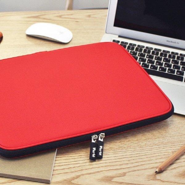 바리에 비비드 슬림 11.6인치 노트북 파우치 레드 상품이미지