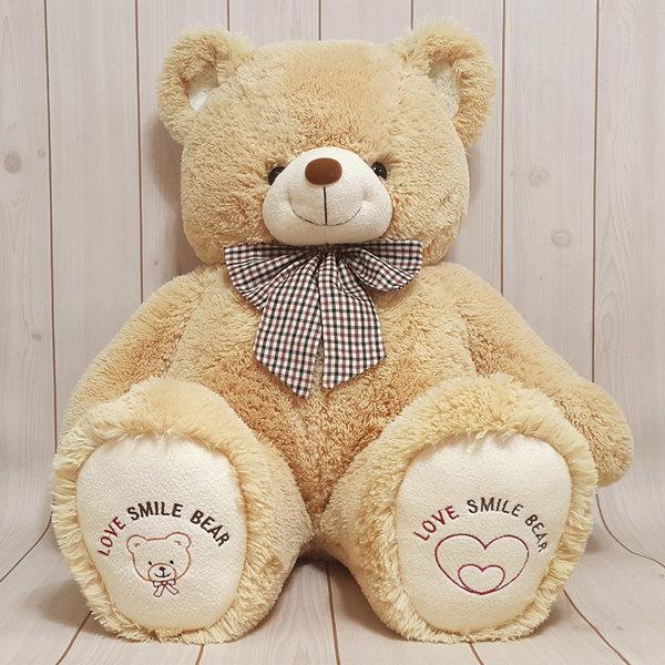 국산 러브 스마일 곰인형 귀여운 곰돌이 인형 100cm 상품이미지