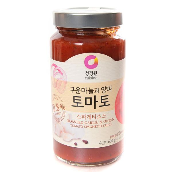 (현대백화점)청정원 토마토 스파게티소스 600g 상품이미지