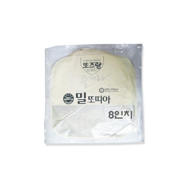 코리원/남향푸드 밀 또띠아 8인치/피자/도우/케밥 상품이미지
