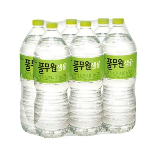 본사공식 풀무원 샘물 생수 2Lx12 무료배송 상품이미지