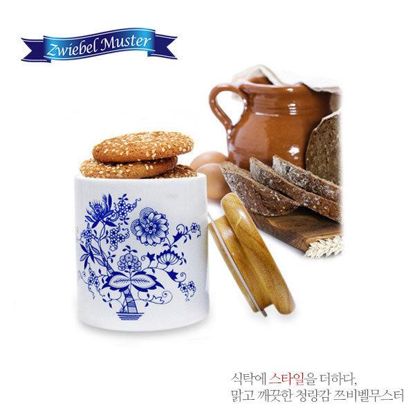 대구백화점 II관   마쯔오카 쯔비벨무스터 원목뚜껑저장통 1pcs 상품이미지