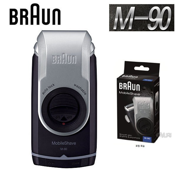 브라운 M90/건전지포함/면도기/시리즈M/총알배송 상품이미지