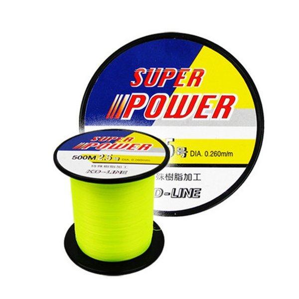 OURIX  SUPER POWER 민물/바다낚시줄-500M/어종에 맞게 세팅하는 멀티풀 나일론 원줄의 대명사 상품이미지