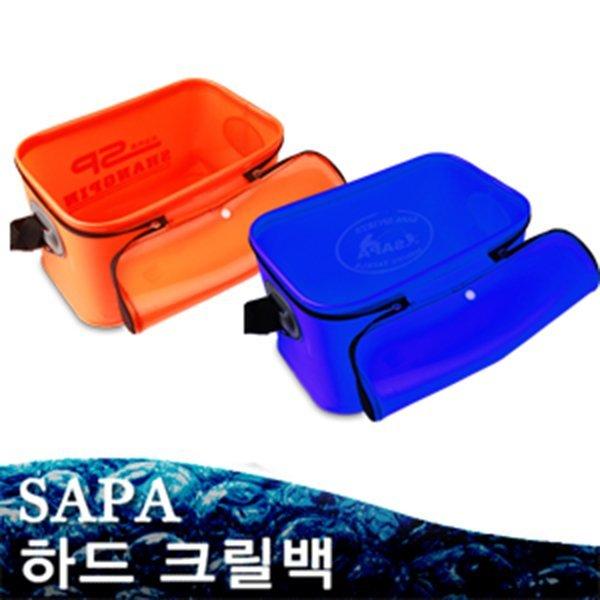 사각크릴백 大 다용도 방수통 밑밥통 삐꾸통 방수망/하드소재/낚시 보조가방 상품이미지
