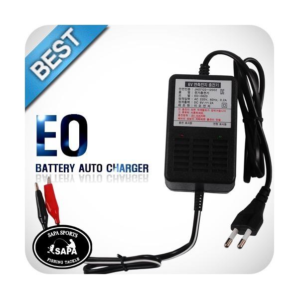 밧데리 자동 충전기  EO-0620 6V 2A  (6V 10A 이하 밧 상품이미지