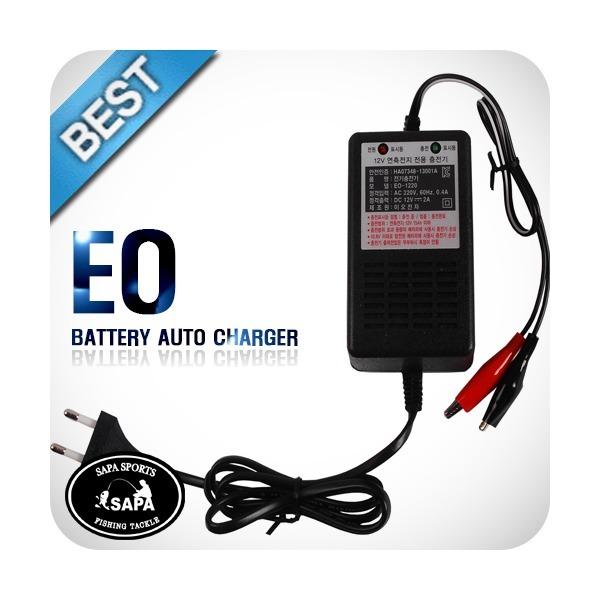 밧데리 자동 충전기  EO-1220 12V 2A  (12V 7~15A 이 상품이미지