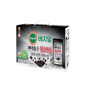 (행사상품)정식품_뼈에좋은검은콩 깨 쌀칼슘두유_190MLx20