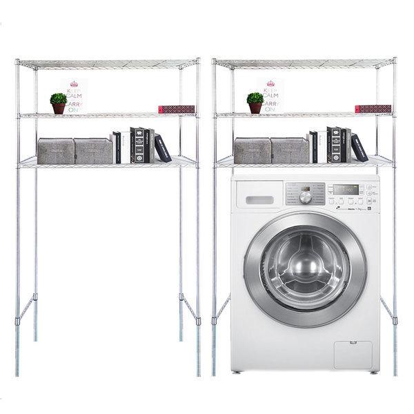 국산 직접생산 세탁기 김치냉장고 메탈수납 정리선반 상품이미지