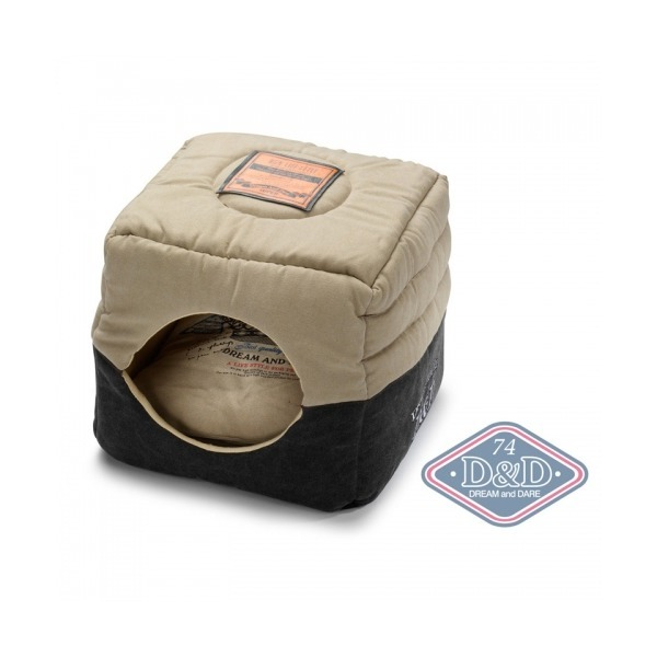 투웨이 로얄티 블랙35/고양이하우스(접으면 방석) 상품이미지