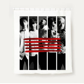 Bigbang MADE Shower curtain / K-pop goods /