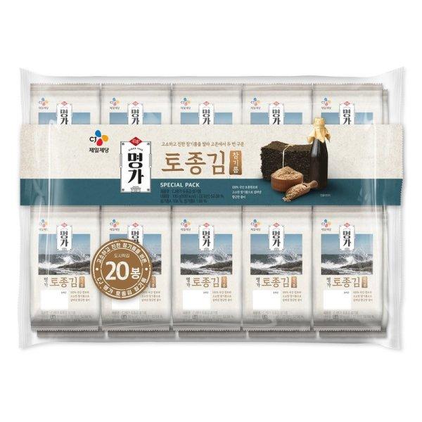CJ 비비고토종김참기름 5gx20봉 상품이미지