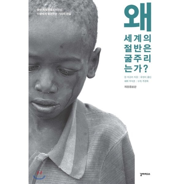 왜 세계의 절반은 굶주리는가  : 유엔 식량특별조사관이 아들에게 들려주는 기아의 진실  장 지글러 상품이미지