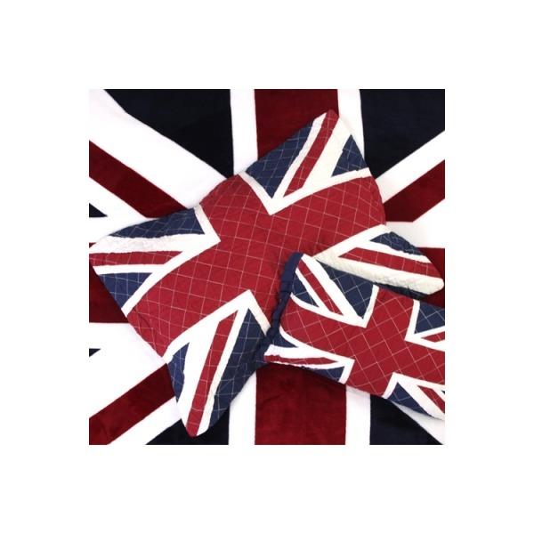 영국 유니온잭 퀄팅 면 베개커버 60x40 (커버만)/유니 상품이미지