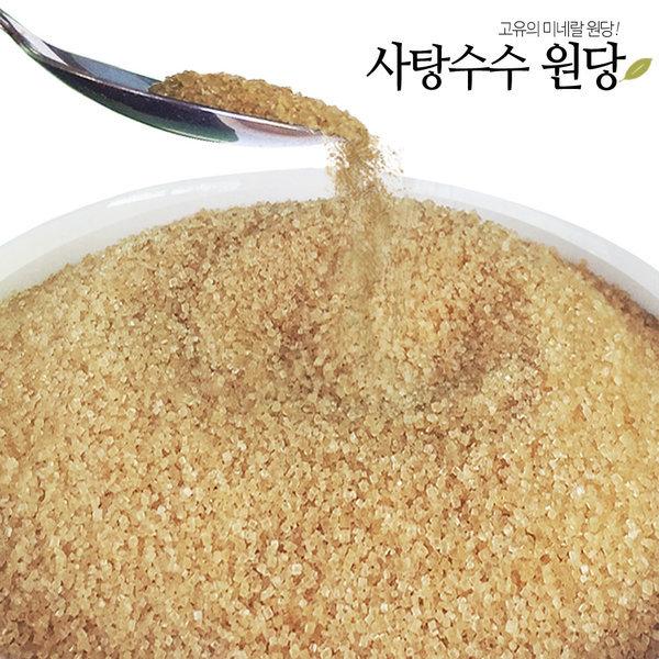 비정제원당 15kg 9kg/사탕수수100%/비정제 설탕 원당 상품이미지