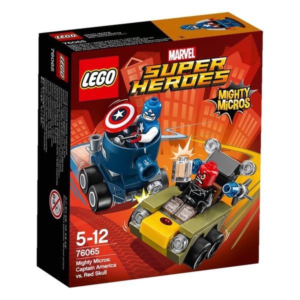 레고 슈퍼히어로즈 캡틴아메리카 VS레드스컬 76065 상품이미지