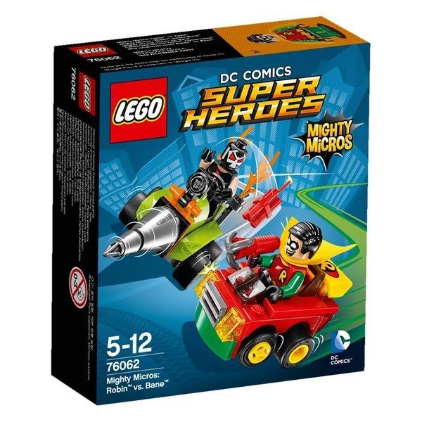 레고 슈퍼 히어로즈 로빈 vs베인 76062 상품이미지