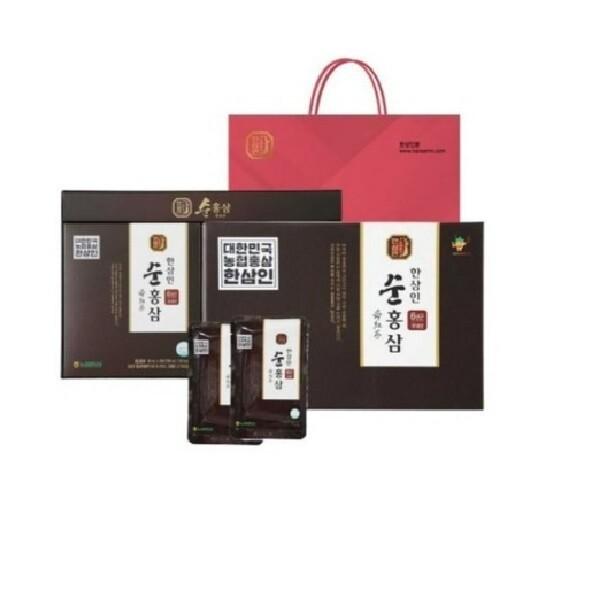 NEW 농협홍삼 6년근 한삼인 순홍삼 1박스(30포) 상품이미지