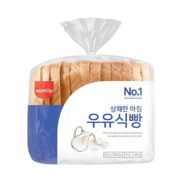 (1+1)삼립_상쾌한아침우유식빵_300G 상품이미지