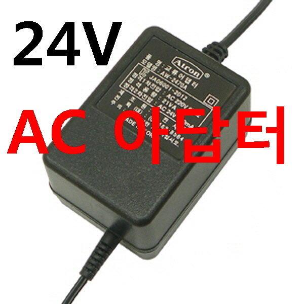 AC 24V 1A  CCTV전원 CCTV아답터 상품이미지