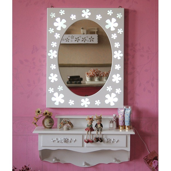 루이송 조명 LED 벽걸이 화장대 벽 거울 세트 상품이미지