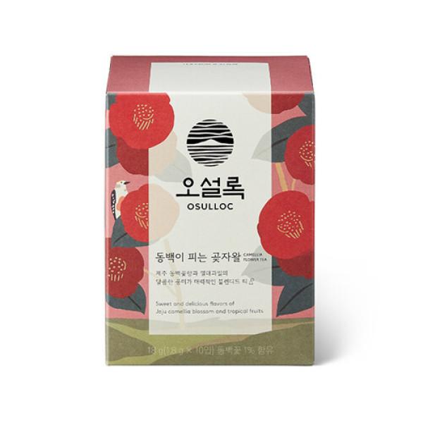 Gmarket Osulloc Osulloc Jeju Camellia Flower Blending Tea 10p
