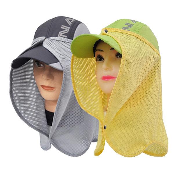 얼굴 햇빛가리개/자외선 차단 마스크 쿨 모자 가리개 상품이미지