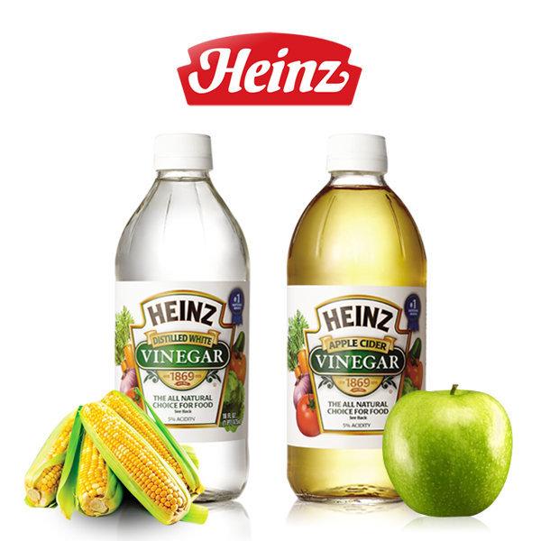 하인즈 식초 473ml 2EA(화이트 식초/애플사이다식초) 상품이미지
