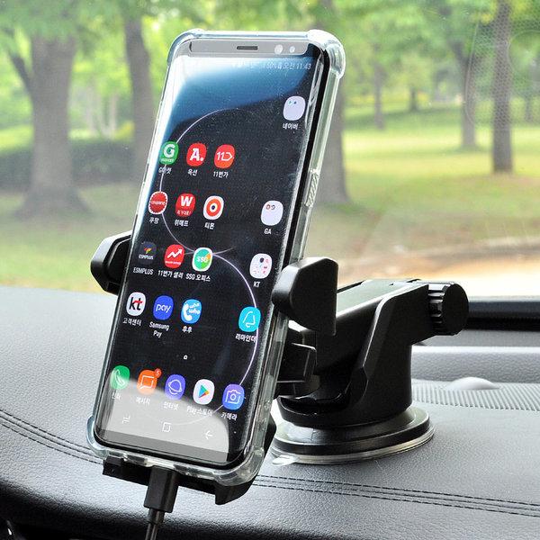 아이마운트 차량용 원터치 스마트폰 핸드폰 거치대 상품이미지