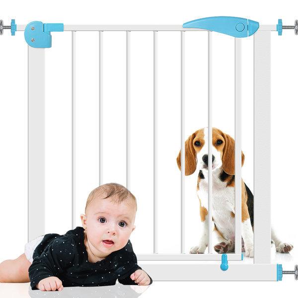 안전문/원터치 아기유아 강아지 철재 애견울타리 펜스 상품이미지