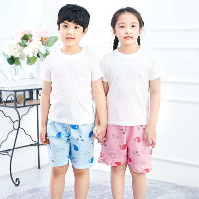 Children pajamas pajama pants pajamas sleepwear underwear easy wear boys girls
