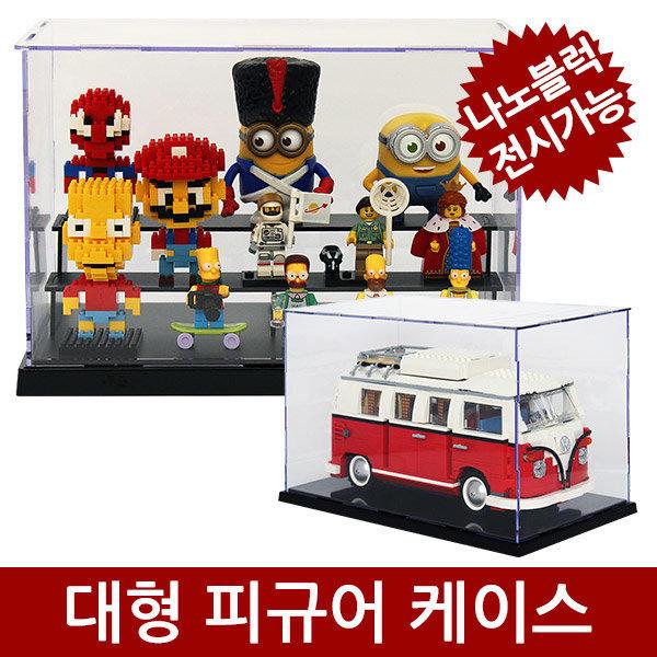 피규어 케이스 레고 장식장 미니블럭 나노블럭 진열장 상품이미지