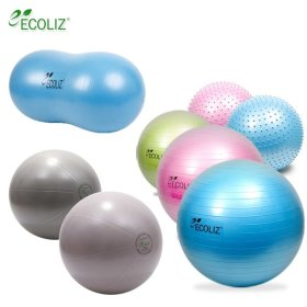 [ECOLIZ] Gym ball / anti burst / 45 cm / 55 cm / 65 cm /