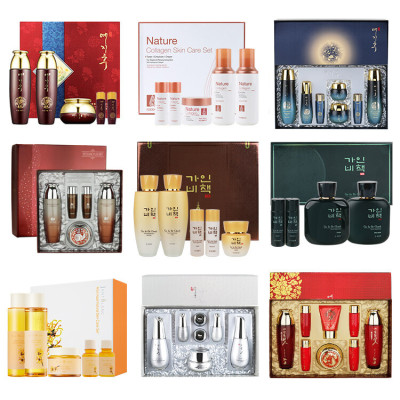 (Free shipping in Korea+Shopping bag) men/women brand skin care gift set