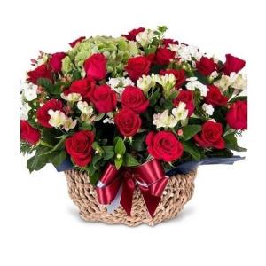 다운플라워 생화 꽃바구니 꽃배달서비스 꽃다발