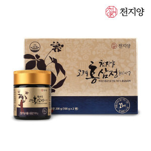 [천지양]천지양 고려홍삼정 프리미엄200g 홍삼농축액 선물세트