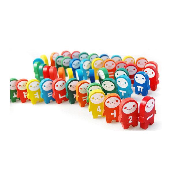 아슬아슬 한글숫자 도미노/블럭/장난감/숫자공부 상품이미지